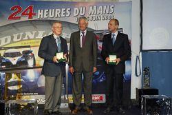 Martin Birrane, Jean-Claude Plassart - ACO President and Yves Courage