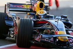 Sébastien Buemi, pilote d'essai, Red Bull Racing