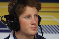 Romain Grosjean, Test Driver, Renault F1 Team