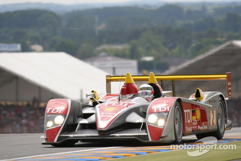 2008: Tom Kristensen, Allan McNish, Rinaldo Capello, Audi R10 TDI
