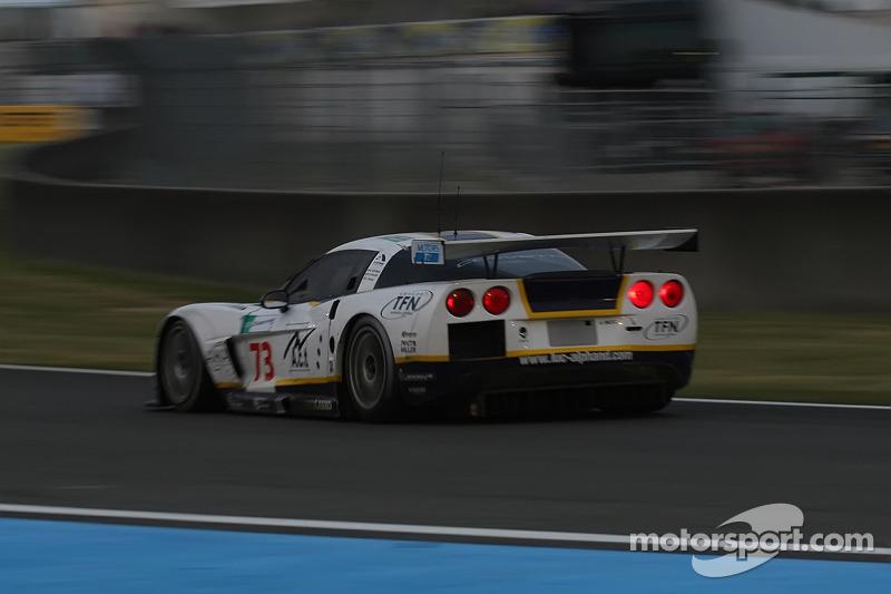 #73 Luc Alphand Aventures Corvette C6.R: Patrice Goueslard, Jean-Luc Blanchemain, Laurent Pasquali