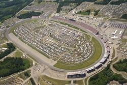 Aerial view of Michigan International Speedway