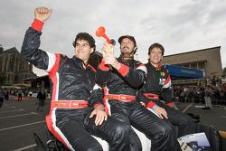 Adrian Valles, Miguel Angel de Castro y Angel Burgueño
