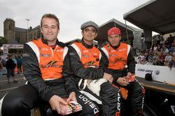 Stuart Moseley, Michael Vergers and Juan Barazi