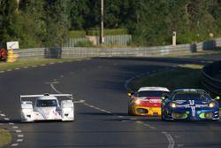 #11 Dome Racing Team Dome Judd S102: Daisuke Ito, Yuji Tachikawa, Tatsuya Kataoka, #99 JMB Racing Ferrari F430 GT: Alain Ferté, Ben Aucott, Stéphane Daoudi