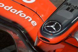 Носовой обтекатель McLaren Mercedes