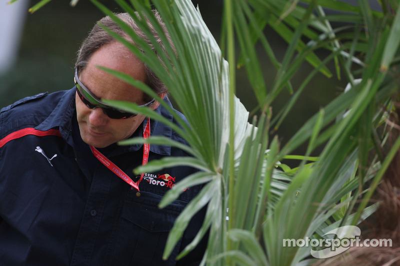 Герхард Бергер еще работал в Toro Rosso
