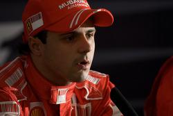 Press conference: Felipe Massa, Scuderia Ferrari