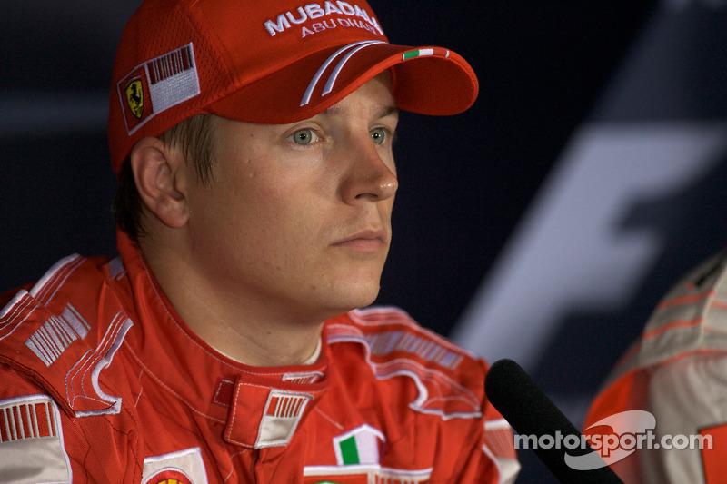 2008 - Kimi Raikkonen, Ferrari