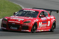 #30 Makson Construction Racers Edge Motorsports Mazda RX-8:Ross Smith, Craig Stone