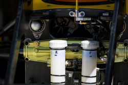 Фрагмент автомобиля команды Renault F1 Team