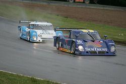 #10 Sun Trust Racing Pontiac Riley:Max Angelelli, Michael Valiante et #01 TELMEX Lexus Riley: Scott