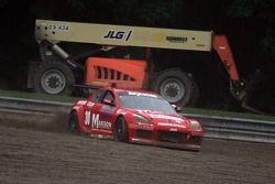 #30 Racers Edge Motorsports Mazda RX-8: Ross Smith, Craig Stone finds the gravel pit in corner 4