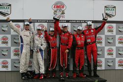 Daytona Prototype victory celebration
