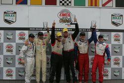 GT victory lane celebration