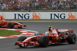 Felipe Massa, Scuderia Ferrari y Kimi Raikkonen, Scuderia Ferrari