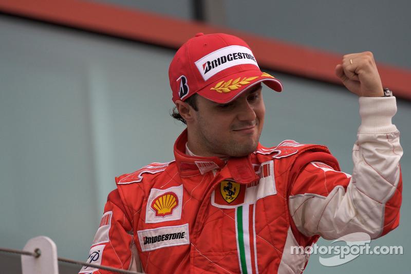 17º Felipe Massa (8 victorias desde la pole) (el 50 % de sus victorias)