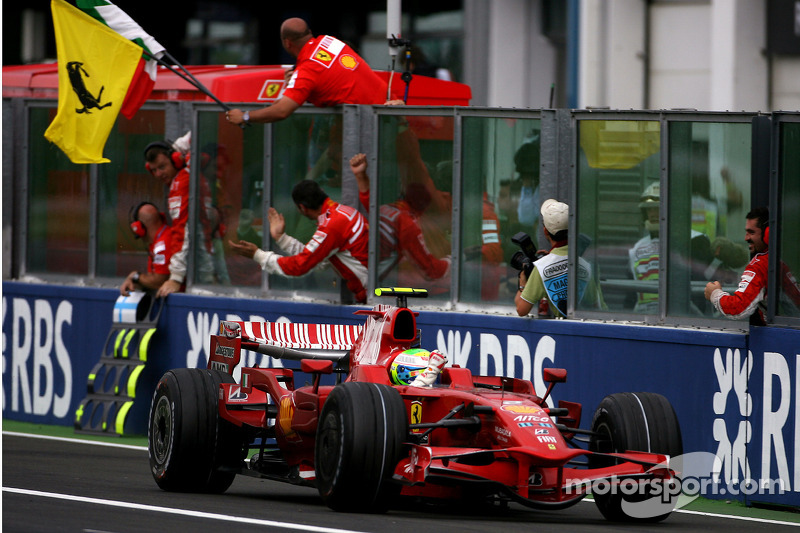 Felipe Massa (1 victoria)