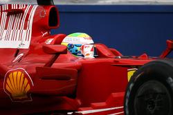 Ganador de la carrera Felipe Massa