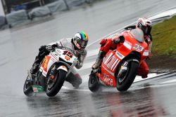 Marco Melandri and Alex de Angelis