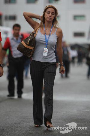 Rafaela Bassi esposa de Felipe Massa