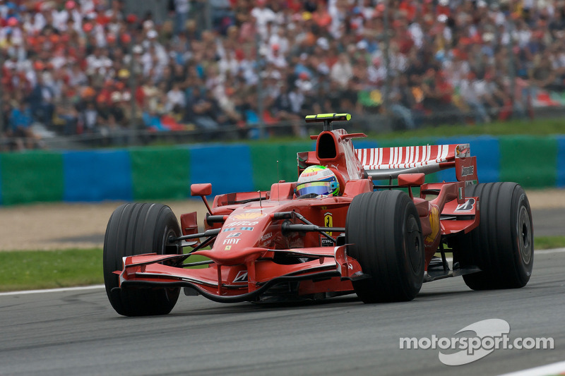 """2008: سيارة فيراري """"اف2008"""" – 97 نقطة، المركز الثاني في البطولة"""