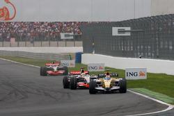 Nelson A. Piquet, Renault F1 Team, Lewis Hamilton, McLaren Mercedes