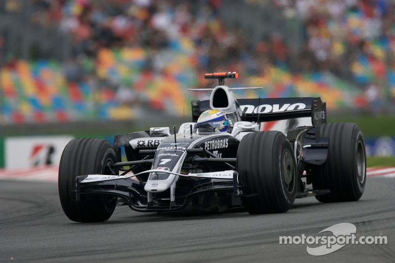 Williams, 2008: 17 pontos, 13º no campeonato
