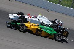 Will Power and John Andretti