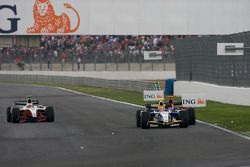 Diego Nunes and Romain Grosjean