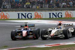 Giorgio Pantano et Vitaly Petrov