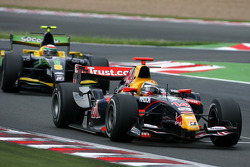Sebastien Buemi and Alvaro Parente