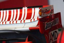 Scuderia Ferrari, F2008, arka kanat