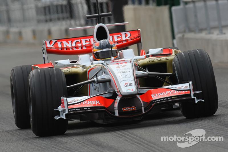 Vitantonio Liuzzi: 80 Grand Prix'nin 9'undan puanla yrıldı