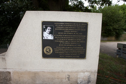 Monument in memory of Pedro Rodriguez