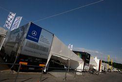 Camion Team HWA AMG Mercedes