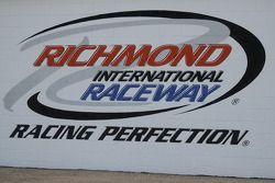 The Richmond logo on the media center