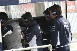 Sam Michael, WilliamsF1 Team, Teknik Direktörü, pitwall