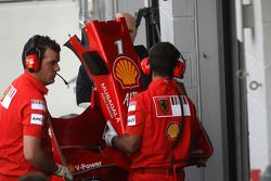 Scuderia Ferrari, detay, nosecone