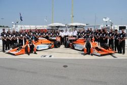 Conquest Racing posing for a team photo