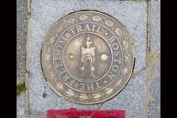 The beginning of the Freedom Trail