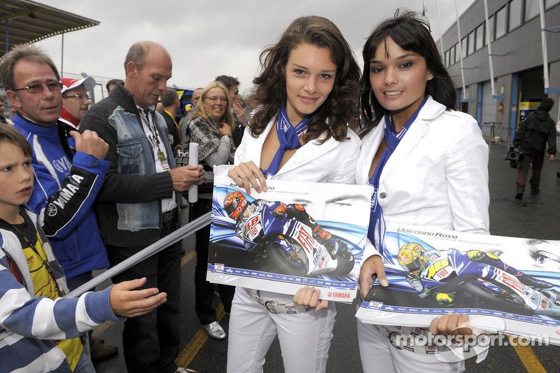 Las chicas Yamaha