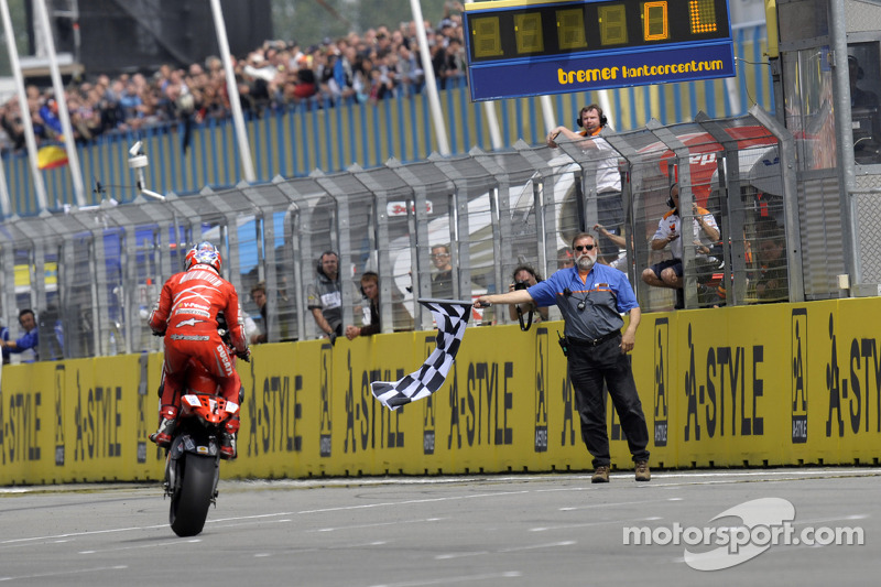 2008 : Casey Stoner (Ducati Marlboro Team)