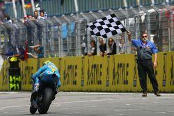 Chris Vermeulen takes the checkered flag