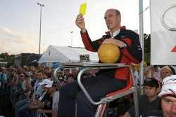 Audi Heroes Cup 'Human Kicker' event: Dr. Wolfgang Ullrich