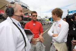 Martin Tomczyk, Audi Sport Team Abt Sportsline, Audi A4 DTM and Mattias Ekström, Audi Sport Team Ab
