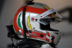 Helmet of Tom Kristensen, Audi Sport Team Abt, Audi A4 DTM