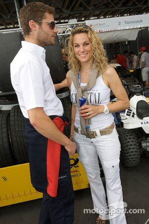 Martin Tomczyk and Christina Surer