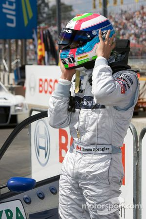 Second place Bruno Spengler