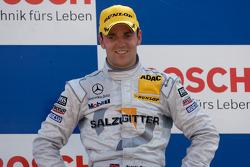 Podium: race winner Jamie Green